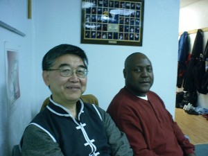 Sifu Saleem and Grandmaster Johnny Kwong Ming Lee